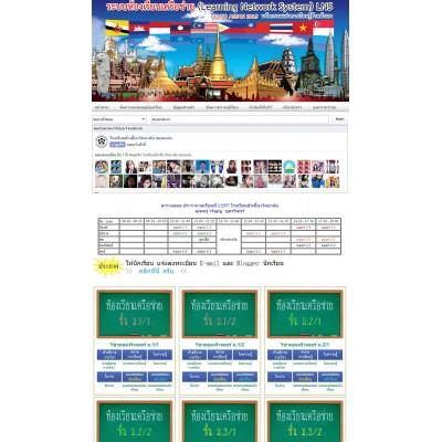 รับทำเว็บห้องเรียนเครือข่าย รับทำเว็บไซต์ห้องเรียนเครือข่าย